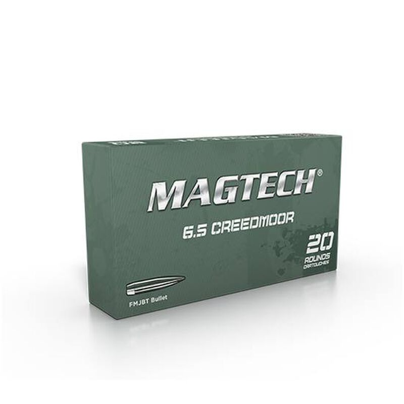 Magtech 6.5 Creedmoor Ammunition 20 Rounds FMJBT 140 Grains 65A