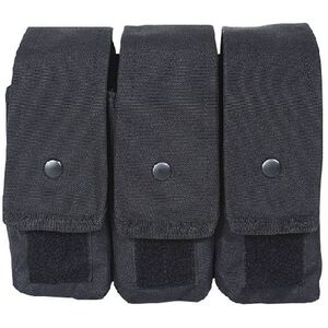 Voodoo Tactical AK47/AK74/M4/AR-15 Triple Magazine Pouch MOLLE Compatible Nylon Black 20-8175001000