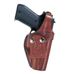 "Bianchi Pistol Pocket Inside-the-Pants Holster Large-Frame Autos 5"" Barrels Size 11 Right Hand Leather Tan 13763"