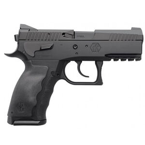 """KRISS USA SPHINX SDP Compact Duty Semi Auto Pistol 9mm Luger 3.7"""" Barrel 10 Rounds White Dot/U-Notch Sights Interchangeable Rubber Grips Aluminum Frame Black PVD Coating Finish"""