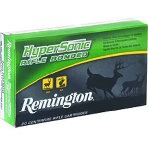 Remington Hypersonic .30-06 Spring Ammunition 20 Rounds 150 Grain Core-Lokt PSP 3035fps