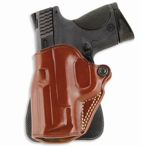 """Galco Speed Paddle S&W J Frame 2"""", Charter Arms Undercover Paddle Holster Left Hand Leather/Polymer Tan SPD159"""