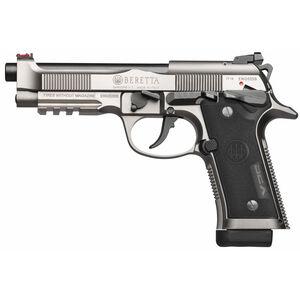 "Beretta 92X Performance 9mm Luger Semi Auto Pistol 4.9"" Barrel 15 Rounds Frame Mounted Safety Nistan Finsih"