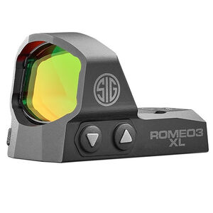 SIG Sauer Romeo3XL Reflex Sight 3 MOA Red Dot Picatinny Rail Mount Black
