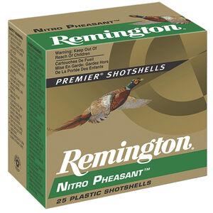 "Remington Nitro Pheasant Loads 20 Gauge Ammunition 3"" Shell #6 Copper Plated Lead Shot 1-1/4oz 1185fps"