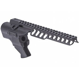 Mesa Tactical Telescoping Stock Adapter Picatinny Optic Mount Remington 870 Aluminum Matte Black 90630