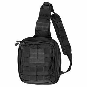 "5.11 Tactical RUSH MOAB 6 Sling Pack Ambidextrous 11L Main Compartment 10.5""x9"" x5"" 1050D Nylon Black"