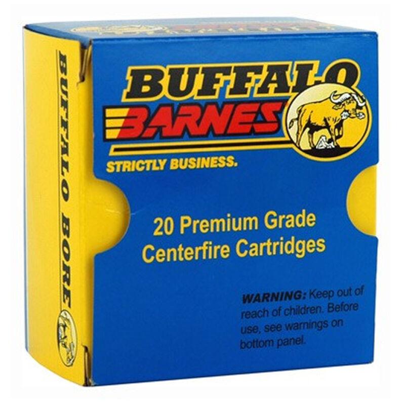 Buffalo Bore Low Flash Heavy .357 Sig Ammunition 20 Rounds Barnes TAC-XP 125 Grains 25C/20