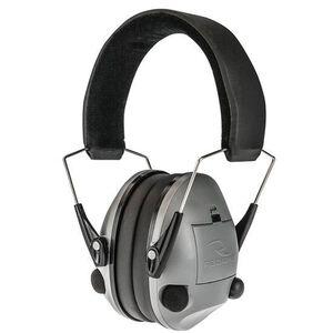 Radians Transverse Electronic Earmuff NRR 20 dB Silver TV0600CS