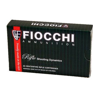 FIOCCHI Shooting Dynamics .40 S&W Ammunition 50 Rounds JHP 180 Grains 40SWE