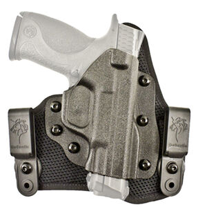 DeSantis Gunhide Infiltrator AIR S&W Bodyguard 380 with CTC Laser IWB Holster Right Hand Breathable Synthetic and Kydex Black