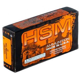 HSM .357 Maximum Ammunition 180 Grain JHP 20 Rounds