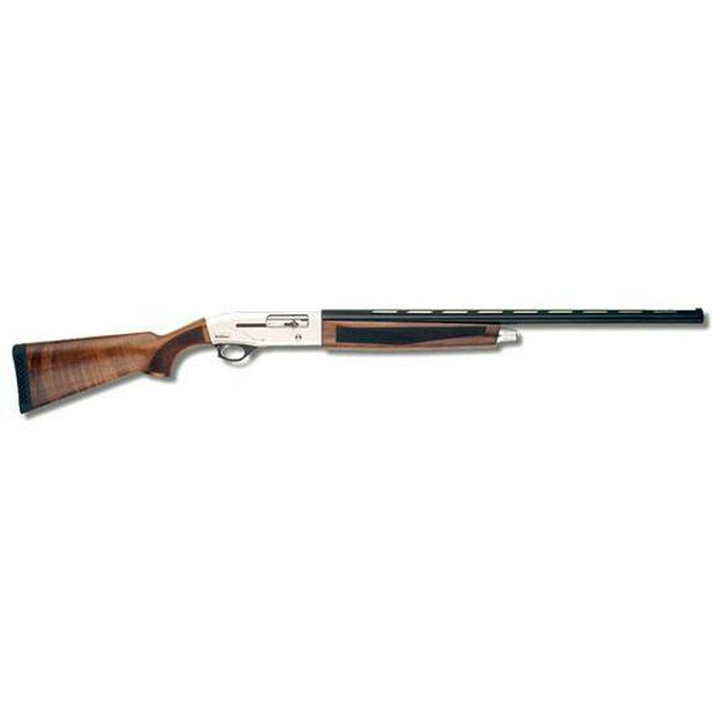 "TriStar Viper Silver Semi Auto Shotgun 12 Gauge 28"" Barrel 3"" Chamber 5 Rounds Walnut Stock Silver Receiver Blued Barrel"