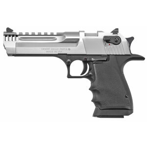 "Magnum Reasearch Desert Eagle L5 .357 Mag Semi-Auto Handgun 5"" Barrel 9 Rounds Lightweight Aluminum Frame Black/Brushed Chrome Finish"