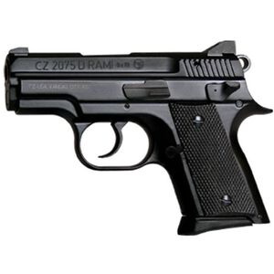 "CZ-USA RAMI BD Semi Auto Pistol 9mm Luger 3"" Barrel 14 Rounds Night Sights Alloy Frame Black 91754"
