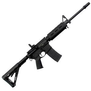 "DPMS AR-15 MOE Warrior Semi Automatic Rifle .223 Rem/5.56 NATO 16"" Barrel 30 Rounds Magpul MOE SL Stock Black Finish"