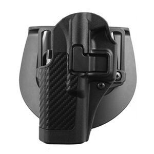 BLACKHAWK! SERPA CQC Holster S&W 5900/4000 Series Right Hand Belt Loop/Paddle Carbon Fiber 410010BK-R
