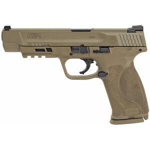"""S&W M&P9 M2.0 9mm Luger Semi Auto Pistol 5"""" Barrel 17 Rounds Armornite Finish FDE"""