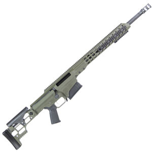 "Barrett MRAD Bolt Action Rifle .308 Winchester 22"" Fluted Barrel 10 Round Magazine Olive Drab Green Cerakote Receiver"