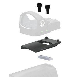 SIG Sauer ROMEO1 Reflex Sight Mount Kit for SIG Sauer 1911 Models Matte Black Finish