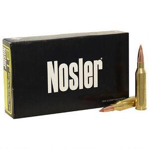 Nosler E-Tip 270 Winchester Ammunition 20 Rounds Total 130 Grain Ballistic Tip Projectile 3075 fps