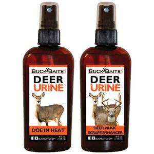 Buck Baits Deer Value Pack Deer Musk Scrape and  Doe in Heat  4oz Bottle each