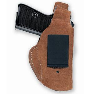 Galco Waistband Inside the Pants Holster S&W J Frame Revolver Right Hand Leather Brown Finish WB160