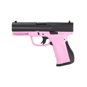 """FMK Firearms 9C1 Gen 2 9mm Luger 4"""" Barrel 14 Rounds Pink Frame Matte Black Slide"""