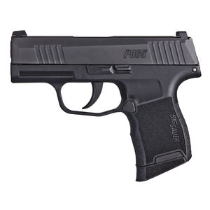 "SIG Sauer P365 Micro-Compact 9mm Luger Semi Auto Pistol 3.1"" Barrel 10 Rounds X-Ray3 Sights Polymer Frame Matte Black Finish"