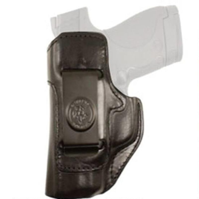 DeSantis Gunhide Inside Heat SIG P238/Colt Mustang/Kimber Micro IWB Holster  Left Hand Leather Black 127BBP6Z0