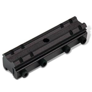 TRUGLO 3/8 to Weaver Scope and Red Dot Mounting Adapter Aluminum Black