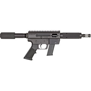 "Just Right Carbine Takedown Semi Auto Pistol 9mm Luger 6.5"" Barrel 17 Rounds Tube Style Forend Black"