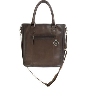 Cameleon Smith & Wesson Flat Tote Concealed Carry Purse Dark Brown