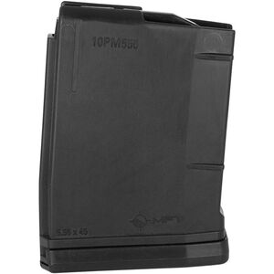 Mission First Tactical AR-15 Magazine .223/5.56 10 Rounds Polymer Black 10PM556
