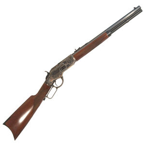"Cimarron 1873 Lever Action Rifle .45 Long Colt 18"" Full Octagon Barrel 10 Rounds Open Sights Walnut Stock Color Case Hardened Receiver Blued CA2011G35"