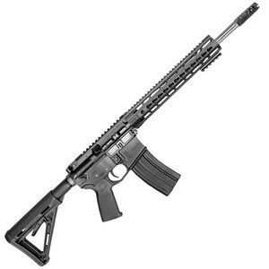 "CORE15 TAC AR-15 Semi Auto Rifle 6.5 Grendel 18"" Stainless Steel Fluted Barrel 25 Rounds 15"" KeyMod Forend Collapsible Stock Black"