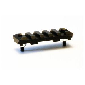 """LongShot 2.500"""" Picatinny Side Rail for Emperor/Seylan TM-1950 Aluminum Black"""