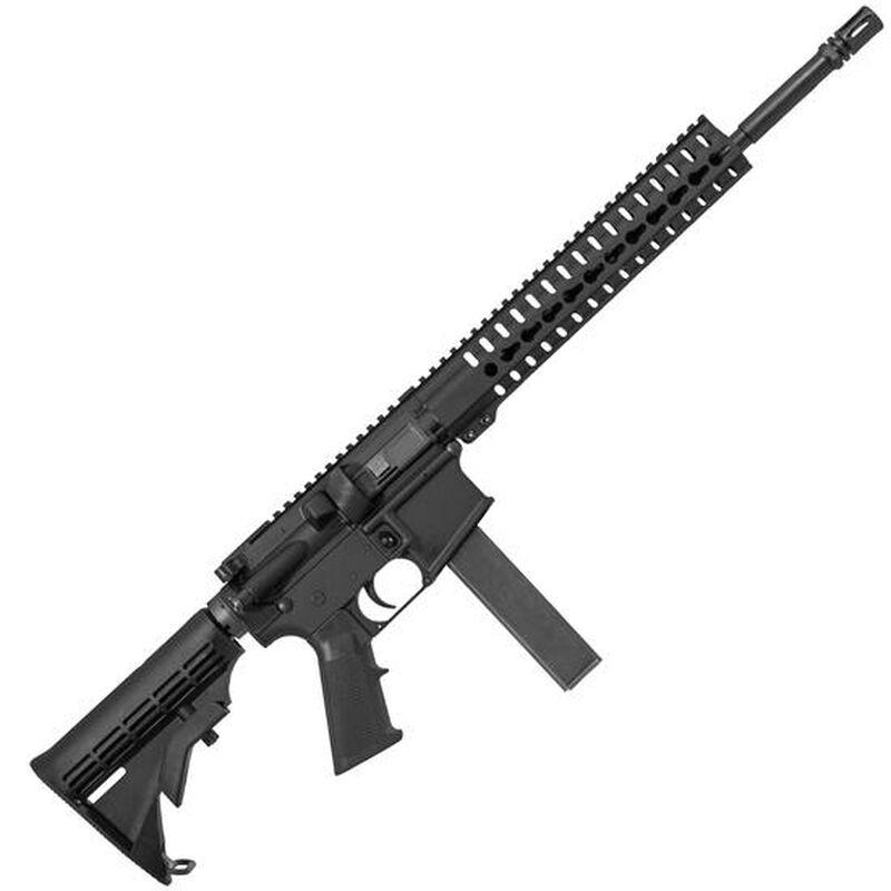 "CMMG MK9 T Semi Automatic Rifle 9mm Luger 16"" Barrel 32 Rounds Collapsible Stock KeyMod Handguard Black 90A1A64"