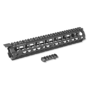 Midwest Industries AR-15 Rifle Length Drop In Handguard M-LOK Aluminum Black MI-19M
