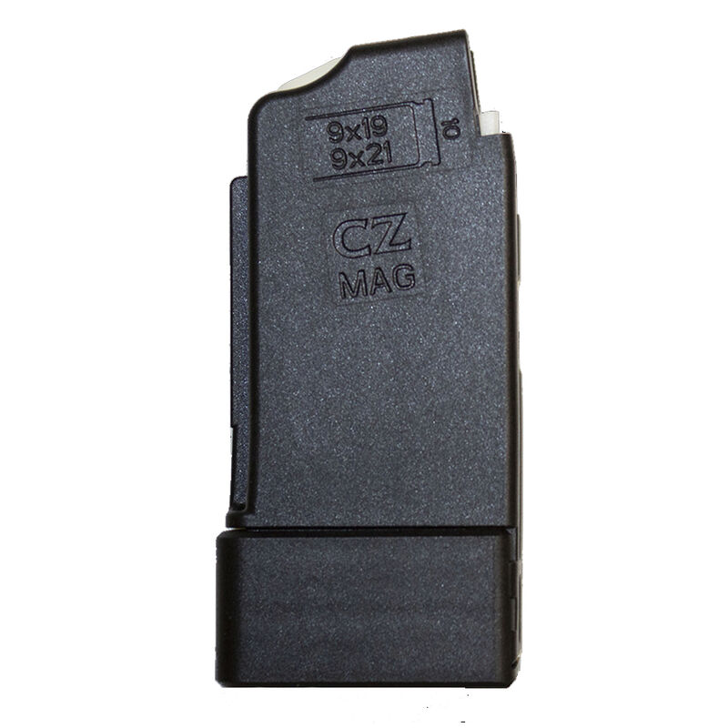 CZ-USA Scorpion 10 Round Magazine 9mm Luger Polymer Black