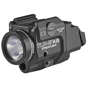 Streamlight TLR-8AG Rail Mounted Flashlight LED 500 Lumens With Green Laser Black