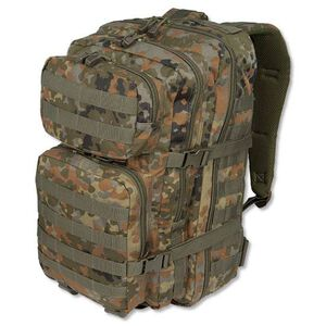 MIL-TEC Level I Assault Pack Flectar Camouflage Heavy Duty 600 Denier Polyester Construction 14002221