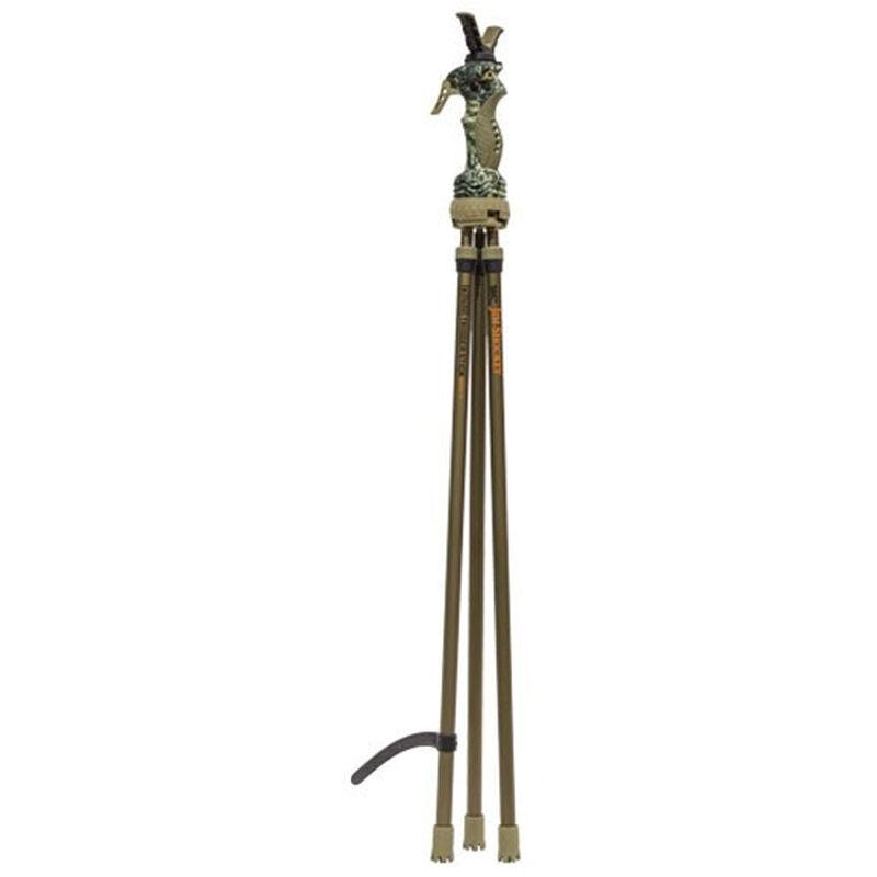 "Primos Trigger Stick Gen 3 Series Tall Tripod 24""-65"" Jim Shockey Edition"