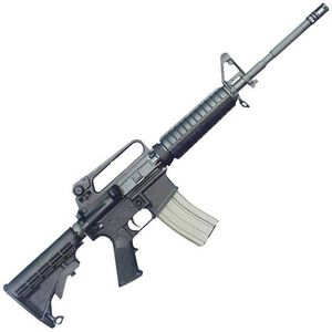 "Bushmaster M4A2 Patrolman AR-15 Semi Auto Rifle .223 Rem/5.56 NATO 16"" Barrel 30 Rounds Fixed Carry Handle Collapsible Stock Black Finish 90216"