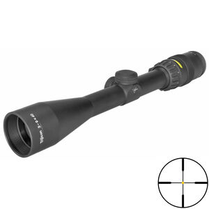 Trijicon AccuPoint 3-9x40 Scope Standard Duplex Crosshair Amber Illuminated Reticle MOA Adjustment 1 Inch Tube Black
