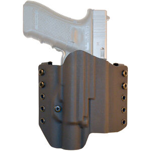 Comp-Tac Warrior with Light Belt Holster Fits SIG P320 with TLR-1 Right Hand Kydex Black