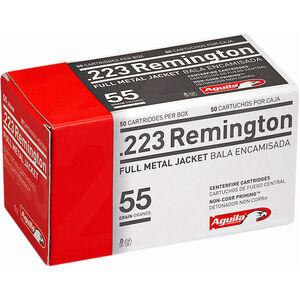 Aguila .223 Remington Ammunition 50 Rounds 55 Grain FMJ