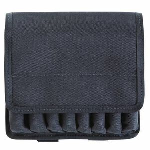 TUFF Original 8 Line Mag Pouch .9mm/.40S&W/.45ACP Double Stack For B92F/G17-21/HK45 Or Similar Black 7068-NYV-2
