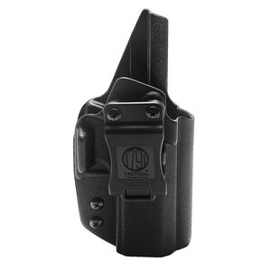 1791 Gunleather Tactical Kydex Multi-Fit IWB Holster for CZ P10C/P10F/P10S Semi Auto Pistols Right Hand Draw Kydex Black