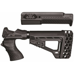 BLACKHAWK! Knoxx Spec Ops Gen III Remington 870 12 Gauge Recoil Absorbing Stock and Forend Polymer Black
